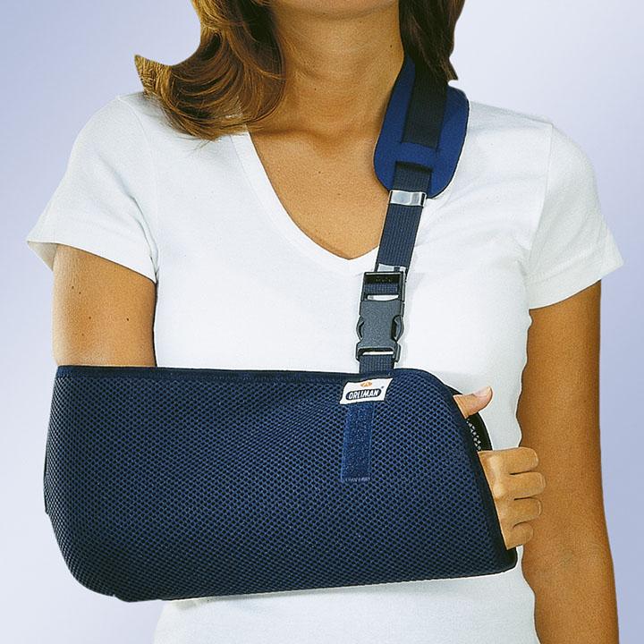 Поддержка для руки при переломе своими руками 10