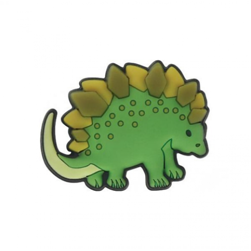 Crocs Декоративная фигурка для обуви Jibbitz Dinosaur Stegosaurus