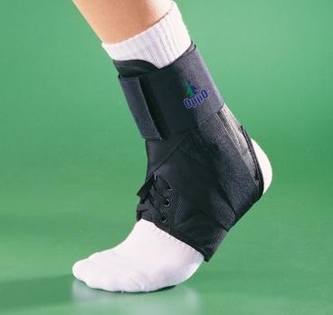Ортез голеностопный усиленный на шнуровке OPPO 4106