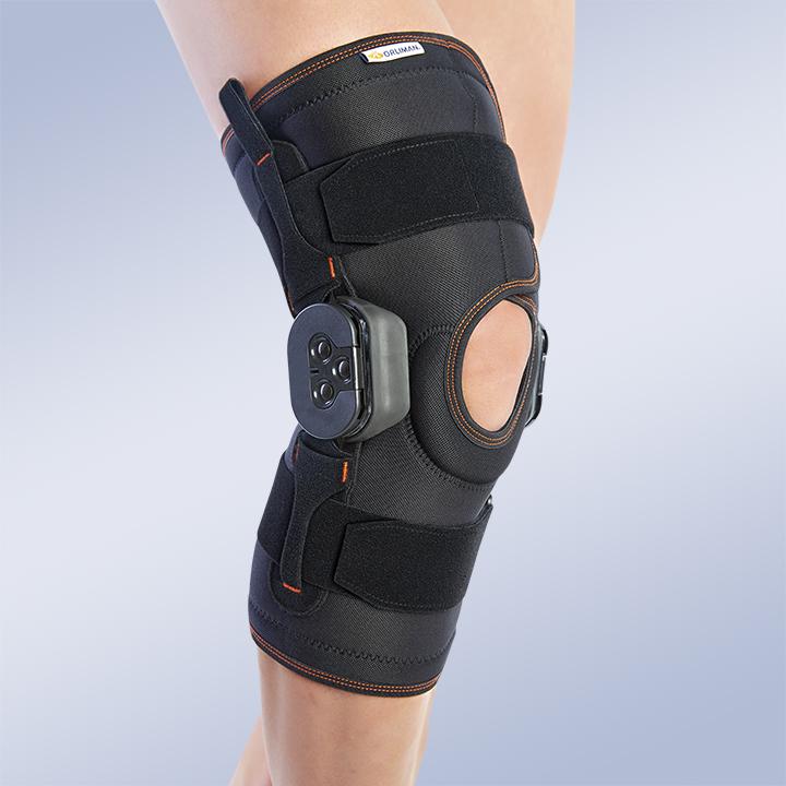 Ортез коленный частично разъемный с регулируемым шарниром Orliman 6112