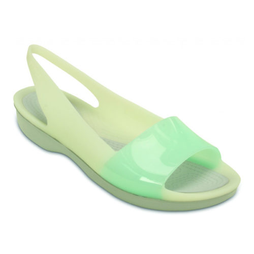 crocs-color-block-green