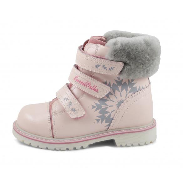 Детская ортопедическая зимняя обувь Sursil-Ortho A45-020-1