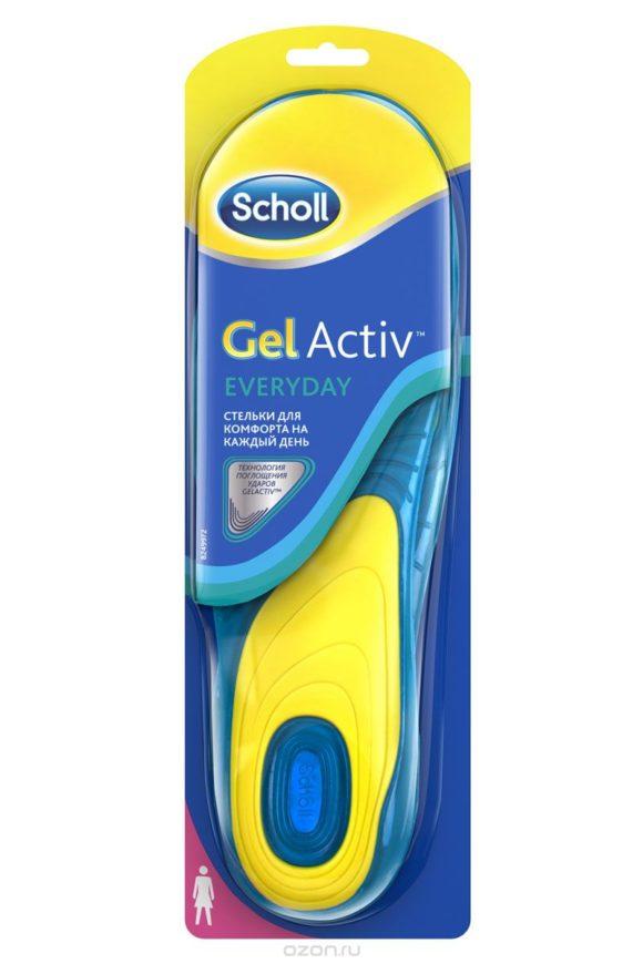 Стельки для комфорта Scholl GelActiv Everyday на каждый день для женщин